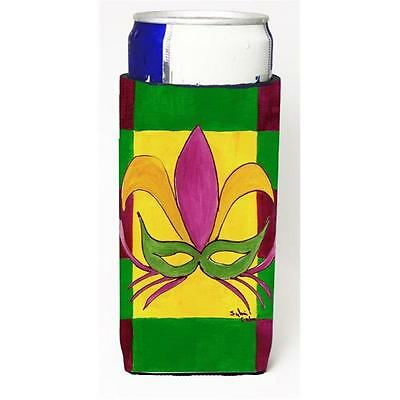 Mardi Gras Mask Michelob Ultra bottle sleeves For Slim Cans 12 oz.
