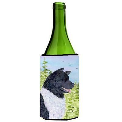 Carolines Treasures SS8670LITERK Akita Wine bottle sleeve Hugger