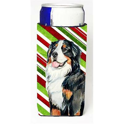 Bernese Mountain Dog Candy Cane Holiday Christmas Michelob Ultra bottle sleev...