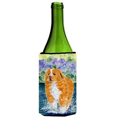Carolines Treasures Nova Scotia Duck Toller Wine bottle sleeve Hugger