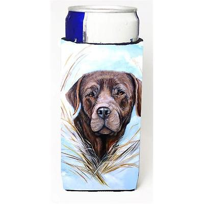 Carolines Treasures Chocolate Labrador Michelob Ultra bottle sleeve for Slim Can
