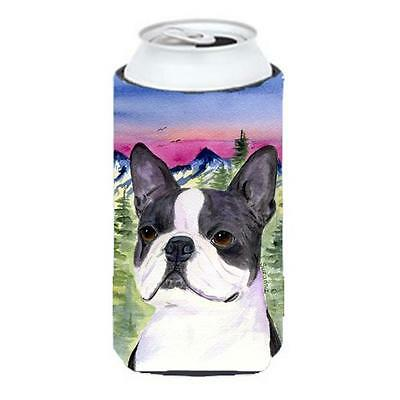 Carolines Treasures Boston Terrier Tall Boy bottle sleeve Hugger 22 To 24 oz.