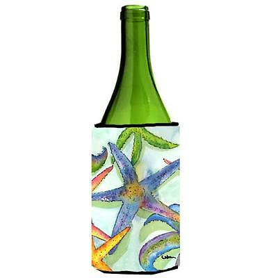 Carolines Treasures 8542LITERK Starfish Wine bottle sleeve Hugger 24 oz.