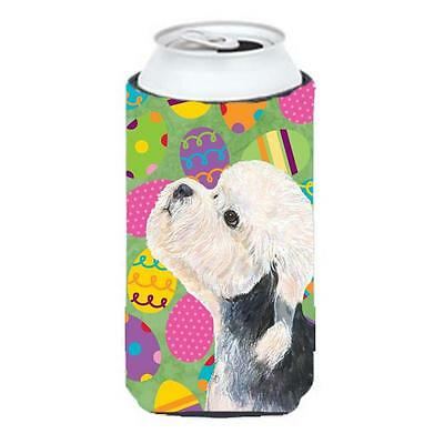 Dandie Dinmont Terrier Easter Eggtravaganza Tall Boy bottle sleeve Hugger 22 ...
