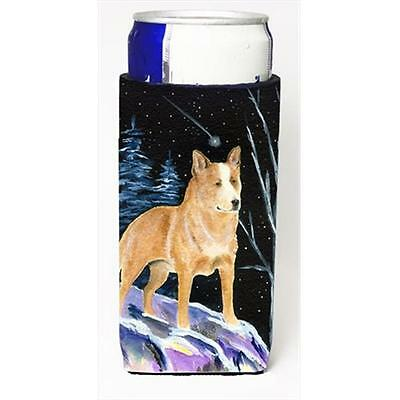 Starry Night Australian Cattle Dog Michelob Ultra bottle sleeves For Slim Cans