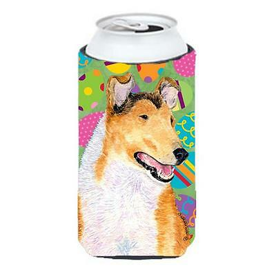 Collie Smooth Easter Eggtravaganza Tall Boy bottle sleeve Hugger