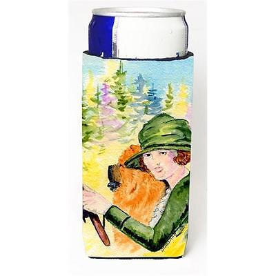 Lady Driving With Her Chow Chow Michelob Ultra bottle sleeves For Slim Cans 1... • AUD 47.47