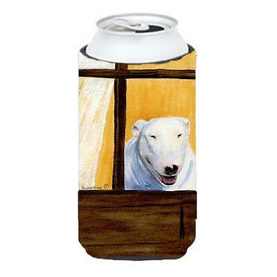 Carolines Treasures Bull Terrier Tall Boy bottle sleeve Hugger 22 To 24 oz.