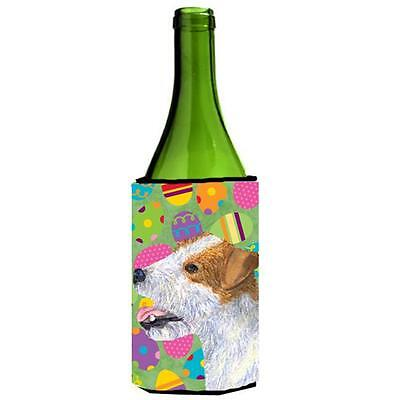 Jack Russell Terrier Easter Eggtravaganza Wine bottle sleeve Hugger 24 Oz.