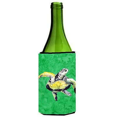 Carolines Treasures Loggerhead Turtle Dancing Wine bottle sleeve Hugger 24 oz.