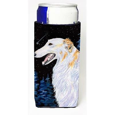 Carolines Treasures SS8626MUK Borzoi Michelob Ultra bottle sleeves For Slim Cans
