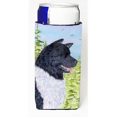 Carolines Treasures SS8670MUK Akita Michelob Ultra bottle sleeves For Slim Cans