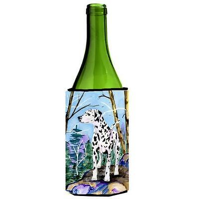 Carolines Treasures SS8651LITERK Dalmatian Wine bottle sleeve Hugger • AUD 48.26