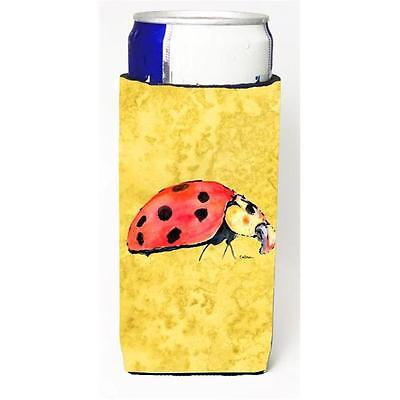 Lady Bug On Yellow Michelob Ultra bottle sleeves For Slim Cans 12 oz.