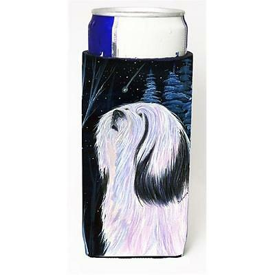 Tibetan Terrier Michelob Ultra bottle sleeves For Slim Cans 12 oz.