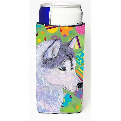 Siberian Husky Easter Eggtravaganza Michelob Ultra bottle sleeves For Slim Cans
