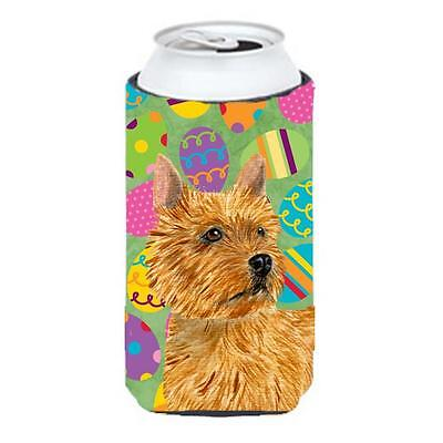 Norwich Terrier Easter Eggtravaganza Tall Boy bottle sleeve Hugger