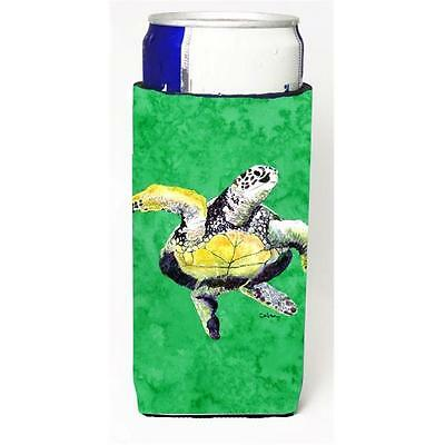Loggerhead Turtle Dancing Michelob Ultra bottle sleeves For Slim Cans 12 oz.