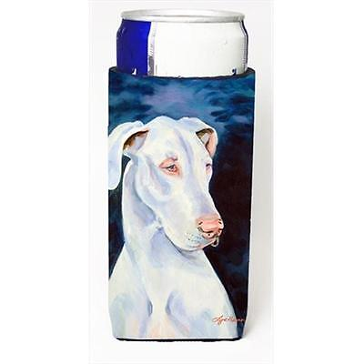 White Great Dane Michelob Ultra bottle sleeves For Slim Cans 12 Oz.