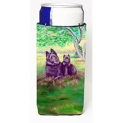 Schipperke And Puppy Michelob Ultra bottle sleeves For Slim Cans