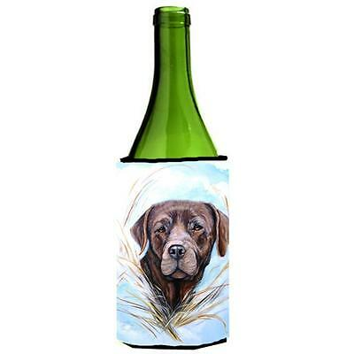 Carolines Treasures VLM1017LITERK Chocolate Labrador Wine bottle sleeve Hugger • AUD 48.26