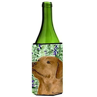 Carolines Treasures Chocolate Labrador Wine bottle sleeve Hugger 24 Oz.