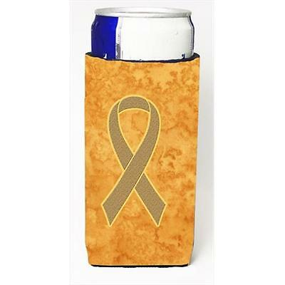 Peach Ribbon for Uterine Cancer Awareness Michelob Ultra bottle sleeves for s...