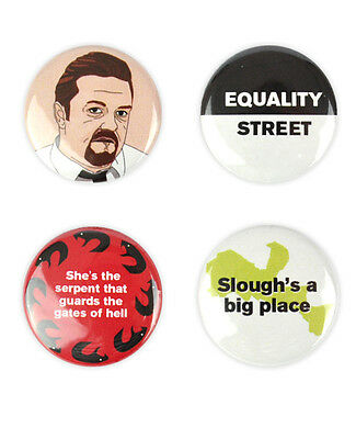 David Brent Badge Set!The Office inspired buttons by bestplayever. Ricky Gervais
