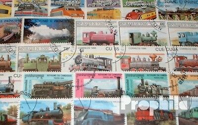 Motives 300 different Railway stamps