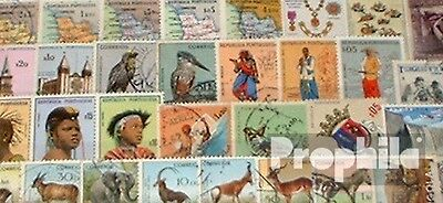 angola 50 different stamps