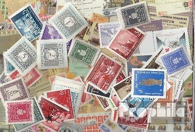 Croatia 50 different stamps mint never hinged mnh