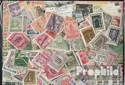 fiume 100 different stamps