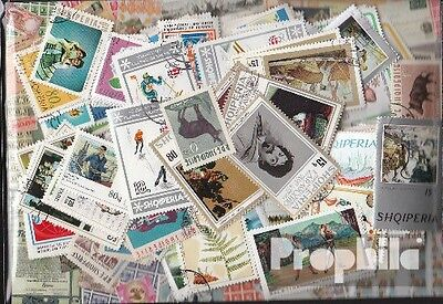 Albania 300 different stamps