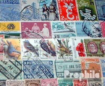 Belgium 400 different stamps