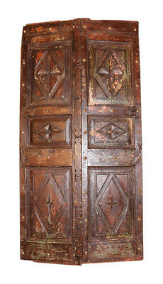 Old indian Door panel from age Door Without Frame