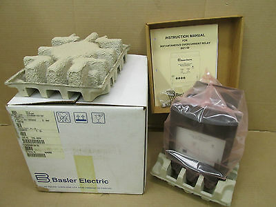 Nib Basler Be1-50 Be150 Overcurrent Relay F4E A1P A1N0F Be1-50F4Ea1Pa1N0F New