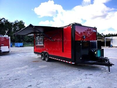 8.5X22 Concession Food Trailer Loaded