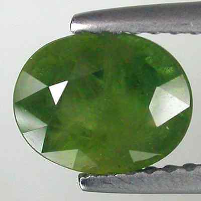 2.02 cts Natural Oval-cut Green SI Sapphire (Africa)