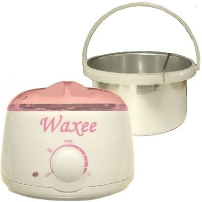 Professional wax heater with inner container for hard film stripless wax 400ml