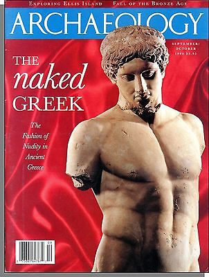 Archaeology - 1990, September - The Fashion of Nudity in Ancent Greece, Maya