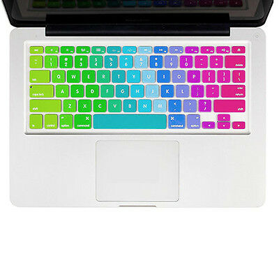 "Silicone Keyboard Protector Skin Cover For Macbook Pro Air Retina 11"" 13"" 15""17"""