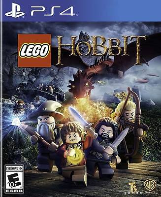 LEGO The Hobbit Sony PS4 Game Brand New & Sealed