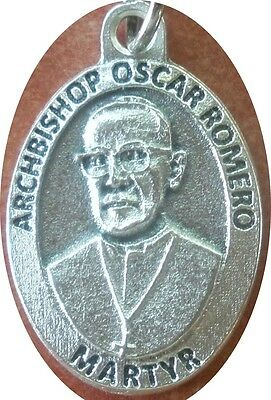 (Soon to be St) Oscar Romero Medal + Shot dead after sermon, celebrating Mass
