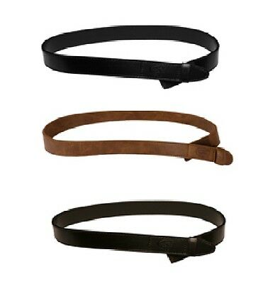 Myself Belts Toddler Easy Fasten Kids Boy/Girl Leather Belt