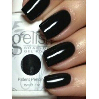 Harmony Gelish Soak Off UV LED Gel Nail Polish Black Shadow 15ml