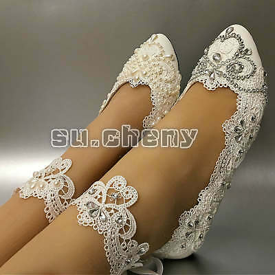 Light ivory red Real silk satin crystal Wedding shoes Bride heels pump size 5-11