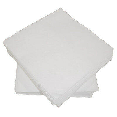100 Luxury White Airlaid Paper Napkins/linen Feel