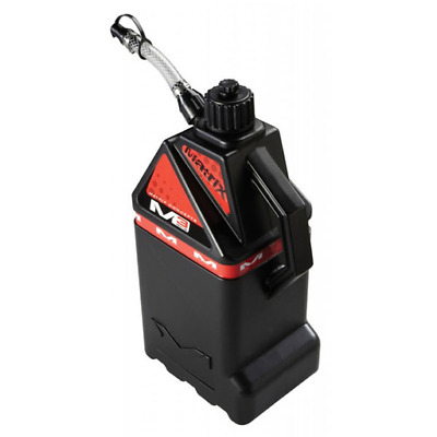 Matrix Concepts M3 Works 18L MX Motocross Fuel Can - Black w/Red