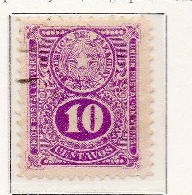 Paraguay 1919 Early Issue Fine Used 10c. 169845