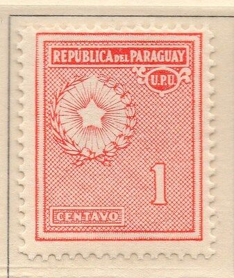 Paraguay 1932 Early Issue Fine Mint Hinged 1c. 169911